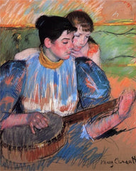 Mary Cassat 1894 pastel painting