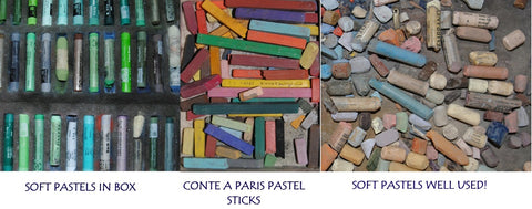 Pastels from Ivan Jones pastel artist studio