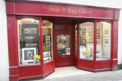 Sable and Hogg gallery shop front