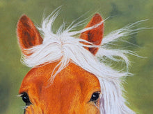 Ladda upp bild till gallerivisning, Can I be your pony. Close up of ears and eyes. Ivan Jones pastel artist