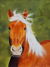 Ladda upp bild till gallerivisning, Can I be your pony? Pastel painting. Ivan Jones artist