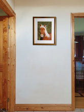Ladda upp bild till gallerivisning, Can I be your pony. Framed on wall. Ivan Jones pastel artist