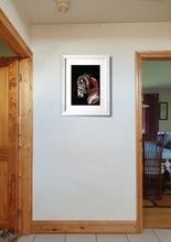 Load image into Gallery viewer, Champing at the bit framed on wall Ivan Jones pastel artist