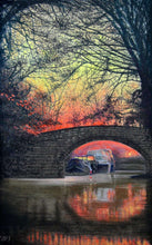 Charger l'image dans la galerie, Sunset over the canal near Ripon, Yorkshire. Painting sold. Ivan Jones Pastel Artist