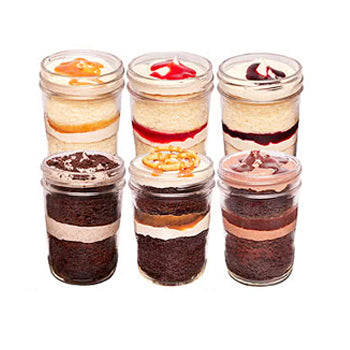 1. Choose from 6 delicious flavours