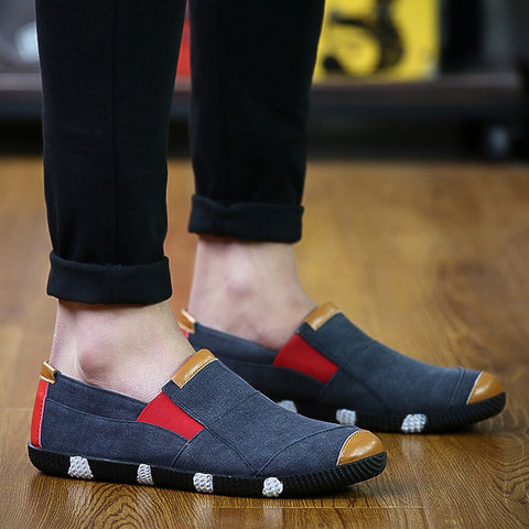 Men Sneakers Anti Slip Fashion Matching Mixed Color