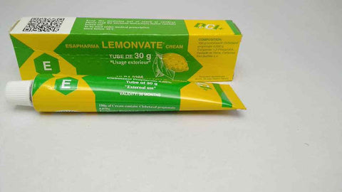 LEMONVATE CREAM DARK KNEE,DARK ELBOW CORRECTOR x2 tubes