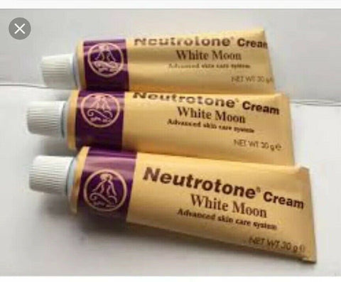 4 x Neutrotone Cream (White moon ) Advanced skin care System
