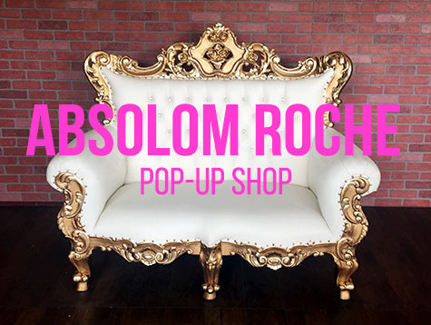 Absolom Roche Pop Up Shop