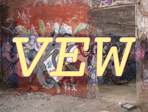 NYC Street Artist Vew Solo Show