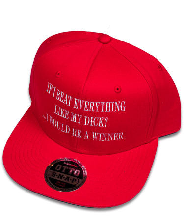 """Beat Everything"" Red Hat"