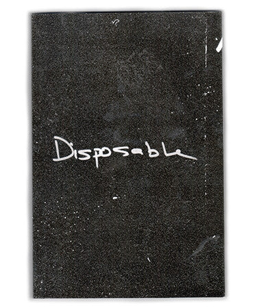 """Disposable"" Zine by Michael Sharp"