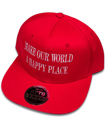 """Happy Place"" Red Hat"