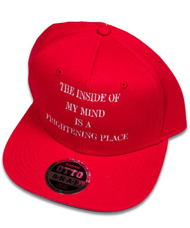 """Inside of My Mind"" Red Hat"