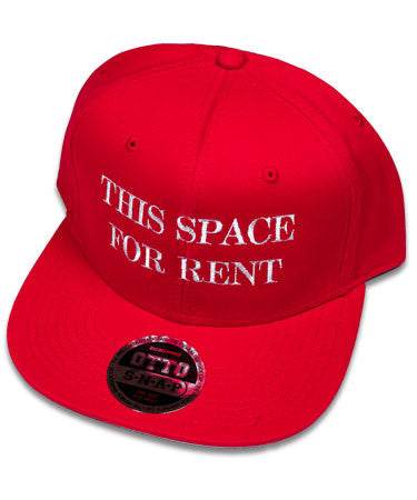 """Space or Rent"" Red Hat"