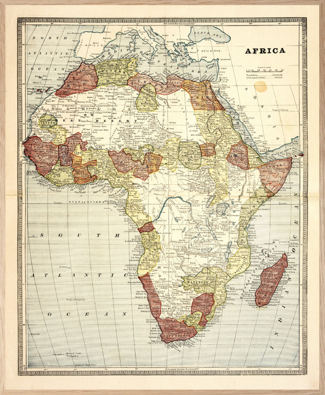 The Africa Map