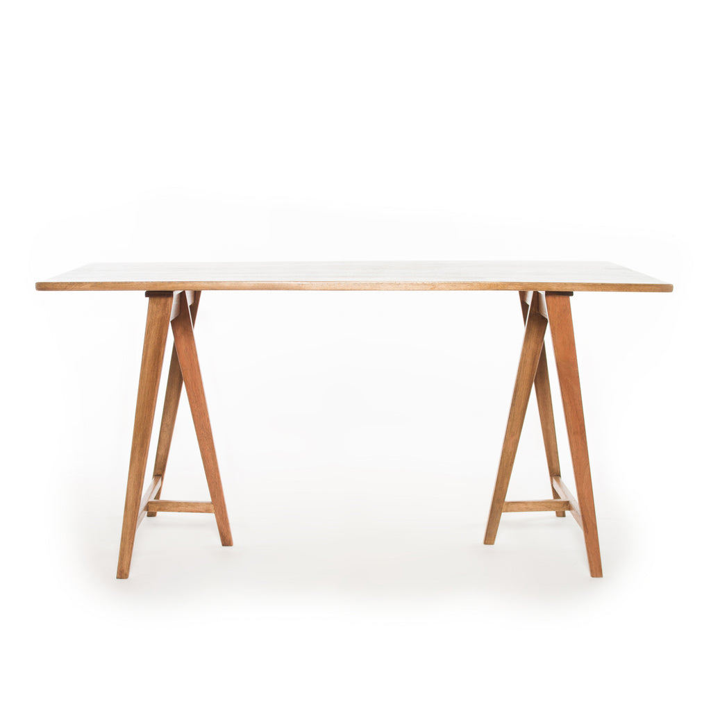 Contemporary Trestle Desk