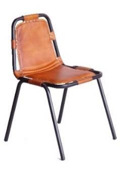 Iron/Leather Chair