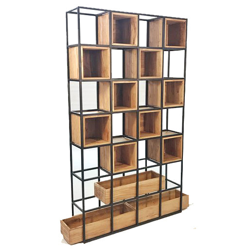 Acacia Wood Display Rack XL