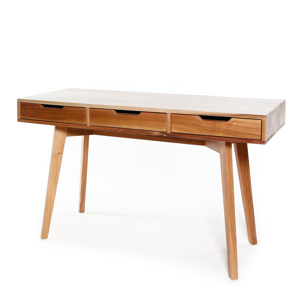 3 Drawer wooden desk