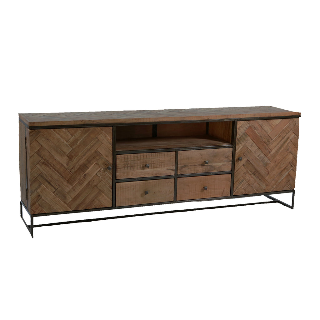 Sideboard 2 door 4 drawers