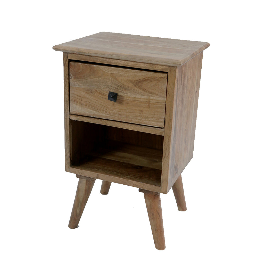 Bedside Table: 1 Drawer