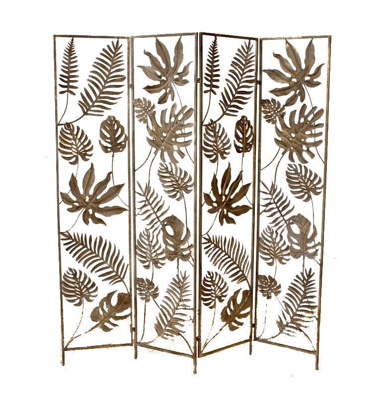 Division Palm Leaf Folding Screen