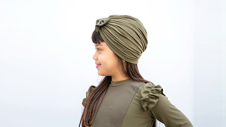 SWIMSUIT - NAWFAR - KIDS - OLIVE GREEN