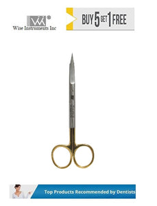 Goldman Fox Scissors Curved, 13cm Tungsten Carbide