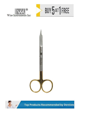 Goldman Fox Scissors Straight, 13cm Tungsten Carbide