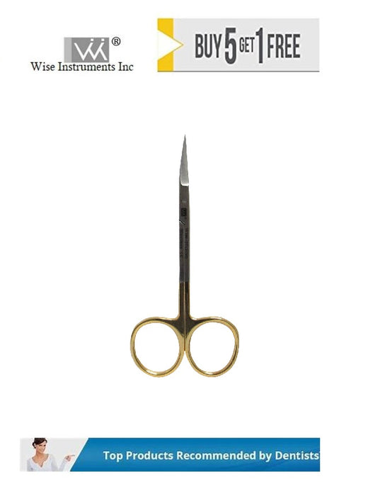 Iris Scissors, Curved, 11.5cm Tungsten Carbide