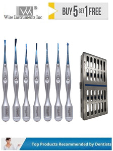 PDL Accu Luxating Set of 7 With Sterilization Cassette