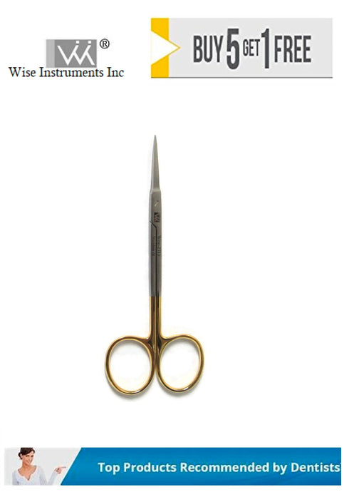 Iris Scissors Straight, X Fine, 11.5cm Tungsten Carbide