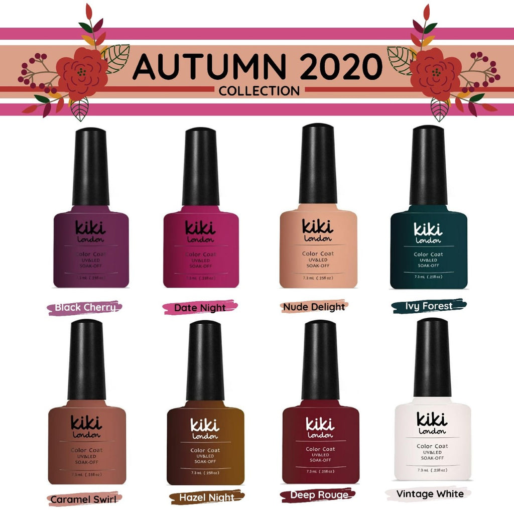 NIEUW! AUTUMN COLLECTION 8stks 7.3ml