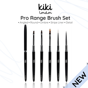 Pro Range Nail Art Brushes Set van 5