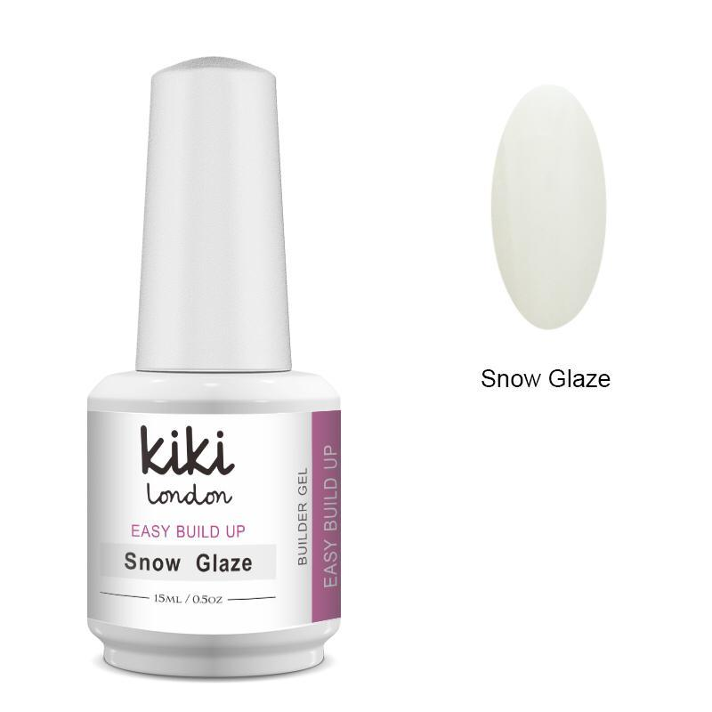 Easy Build Up Builder Gel Snow Glaze 15ml