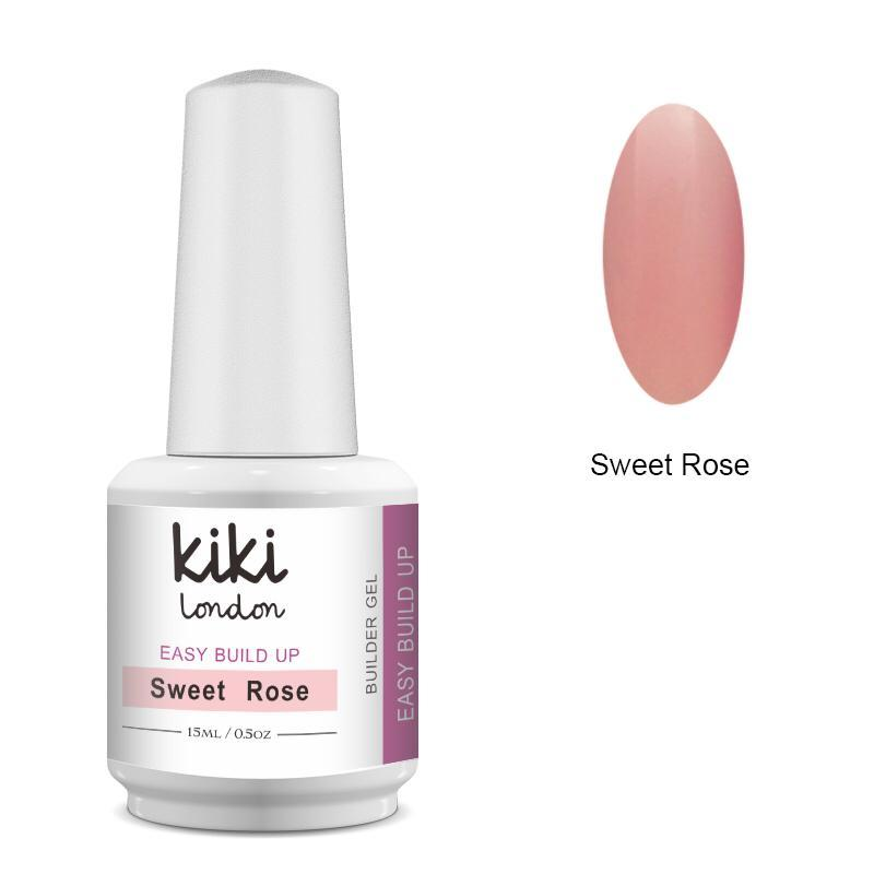 Easy Build Up Builder Gel Sweet Rose 15ml