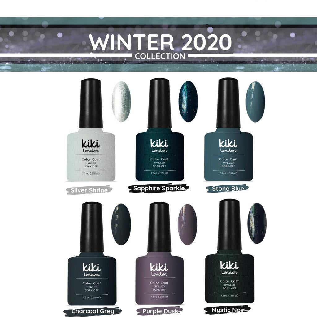 NIEUW! WINTER COLLECTION 6stks 7.3ml