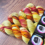 """Fluffernutter"" March Preorder - Knitical Role Yarn Club Mighty Nein"