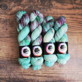 """Blooming Grove"" April Preorder - Knitical Role Yarn Club Mighty Nein"