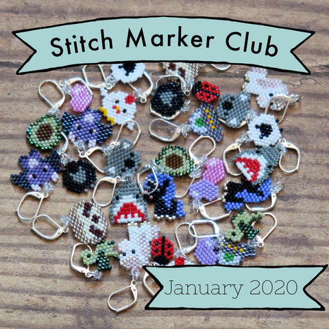 January Preorder - Stitch Marker Club 2020