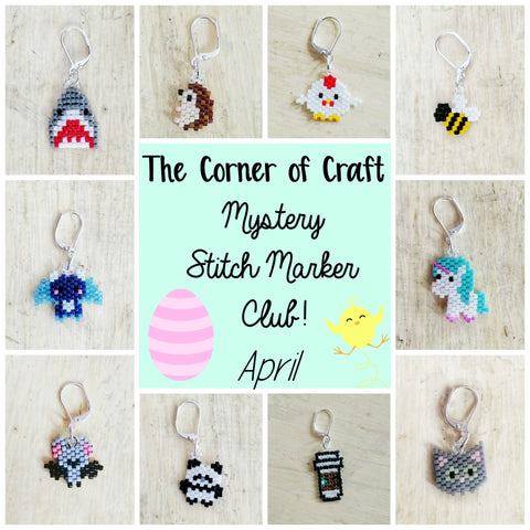 April Preorder - Mystery Stitch Marker Club
