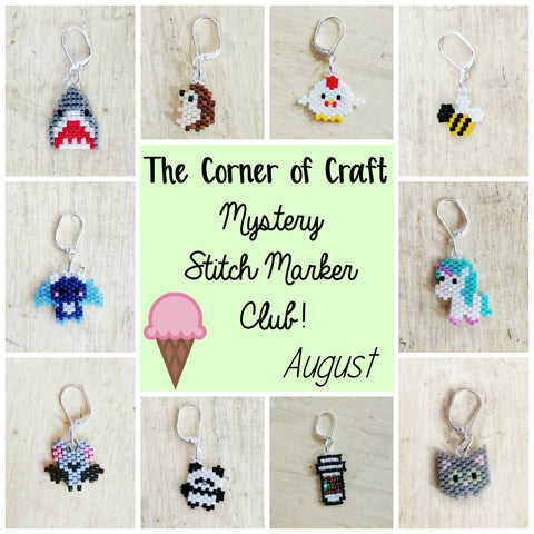 August Preorder - Mystery Stitch Marker Club