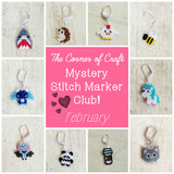 February Preorder - Mystery Stitch Marker Club