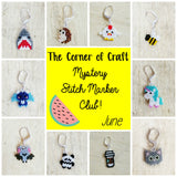 June Preorder - Mystery Stitch Marker Club