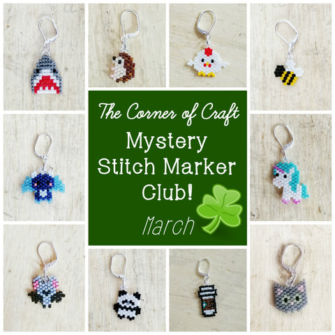 March Preorder - Mystery Stitch Marker Club