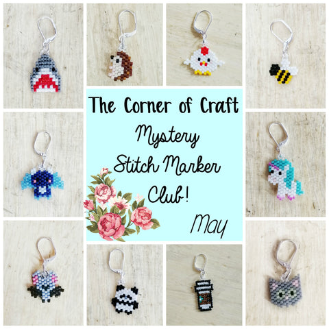 May Preorder - Mystery Stitch Marker Club