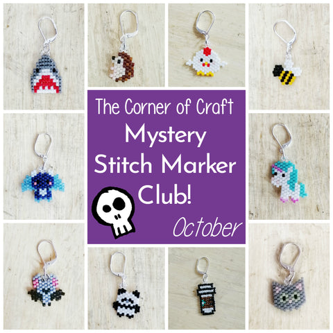 October Preorder - Mystery Stitch Marker Club