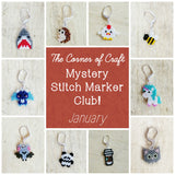 January Preorder - Mystery Stitch Marker Club