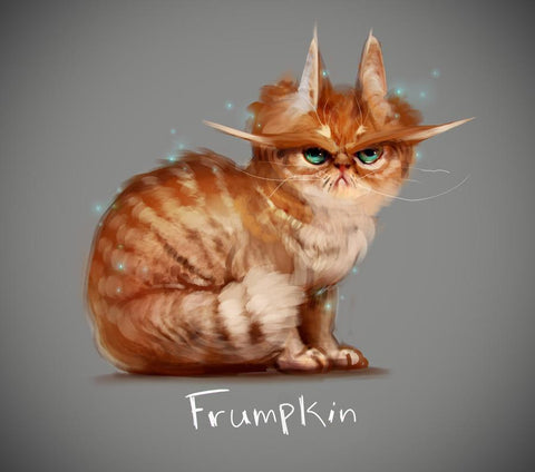 """Frumpkin"" August Preorder - Knitical Role Yarn Club Mighty Nein"